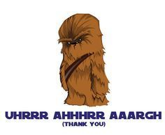 Star wars chewbacca happy birthday card on etsy 500 cumpleaos star wars chewbacca printable thank you cards by geektank on etsy bookmarktalkfo Choice Image