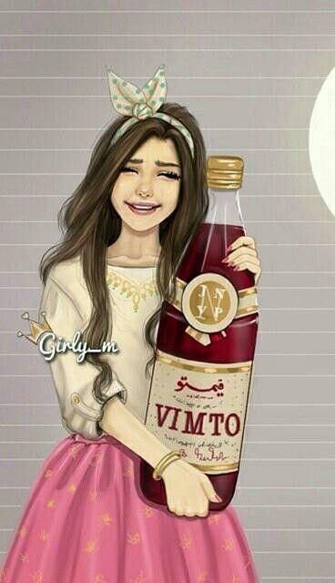 Mai Toc đẹp Girly M Cute Girl Wallpaper Girly Drawings