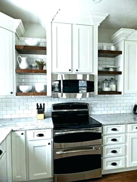 Open Corner Kitchen Cabinet Open Shelf Kitchen Cabinet Ideas Open