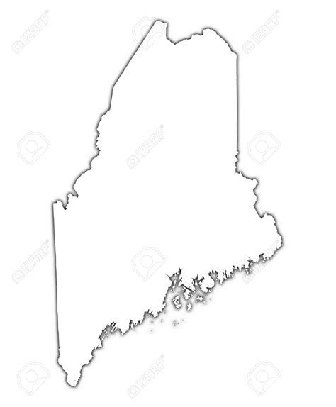 Maine State Outline Maine Outline Clipart Free State Outline Washington State Outline Maine Map