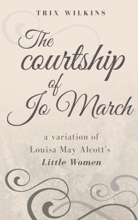 summer reading recommendation the courtship of jo by trix