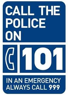 101 The Police Non Emergency Number in the United Kingdom