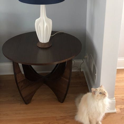 Stern Wood Top End Table With Images End Tables Wood Crafts Diy Wood