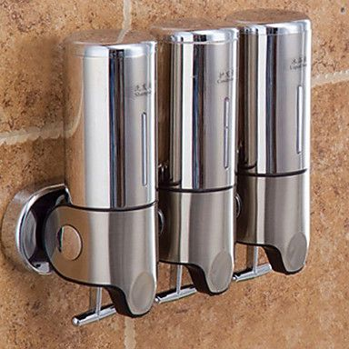 80 94 Soap Dispenser Creative Contemporary Stainless Steel 1pc