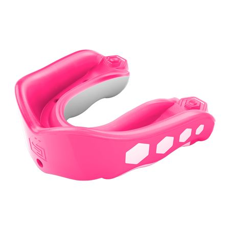 Shock Doctor Braces Mouth Guard Gum Shield Pink Boxing Martial Arts Sports