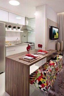 Ideas Para Montar Tu Barra De Cocina Cocinas De Casa Decoracion