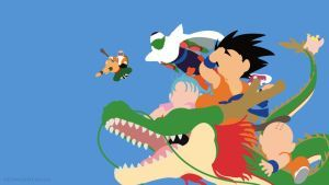 Dragon Ball Minimalist By Sephiroth508 Dragon Ball Dragon Dragon Ball Super