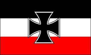 Imperial German Navy Ww I Iron Cross Jack Flag Political Artwork Artwork Jack Flag