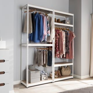 Online Shopping Bedding Furniture Electronics Jewelry Clothing More Clothes Storage Without A Closet Small Closet Space Closet Shelves