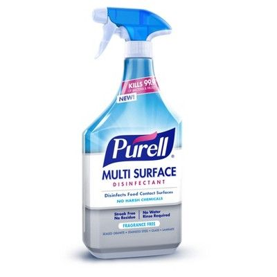 Purell Home Wellness Kit Hand Sanitizer Disinfectant Spray