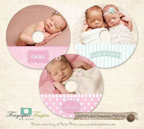 CD DVD Label Templates PSD for Photography Business Bcd06 Label - abel templates psd