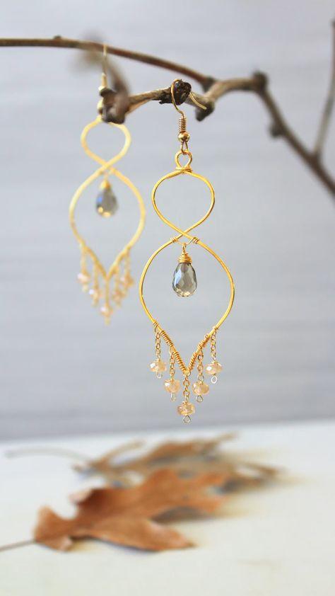 Dangling Chandelier earrings