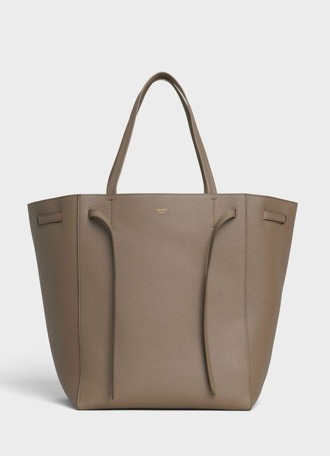 Medium Cabas Phantom in soft grained calfskin   CELINE - see large version in the first place
