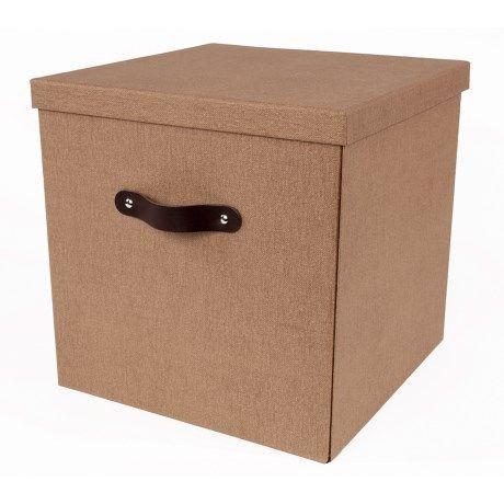 Bigso Texas Knock Down Storage Box 12x12x12 Storage Box Storage Knock Knock