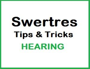 Best PCSO Swertres Hearing Today And Tomorrow, 3D Lottery