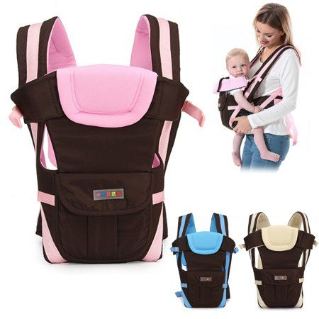 Newborn Baby Carrier Breathable Sling Wrap Backpack Front Ergonomic 4 Position