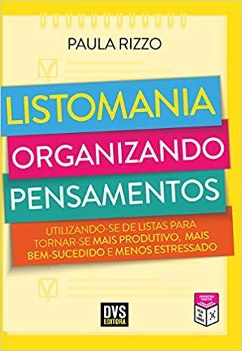Listomania Organizando Pensamentos 9788582891278 Livros Na