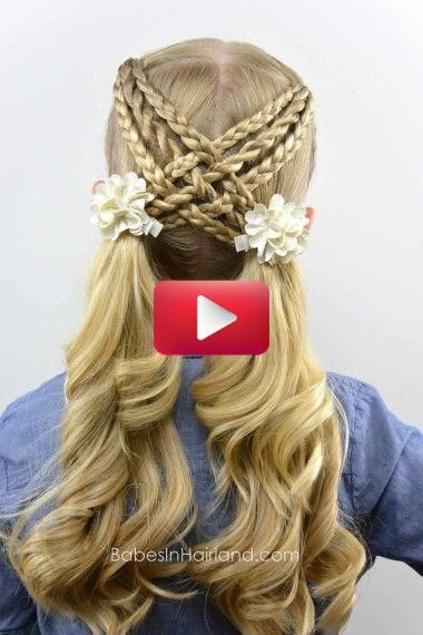 Easy Hairstyles For Girls In 2020 Easy Hairstyles Coiffure Simple Hair Styles