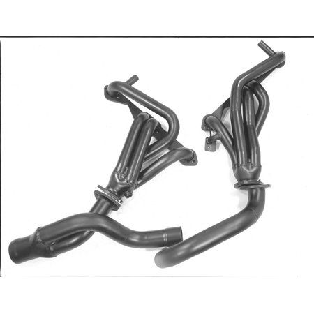 Pacesetter Shorty Header 70 1335 Carb Compliant Header Ceramic Coating Exhausted