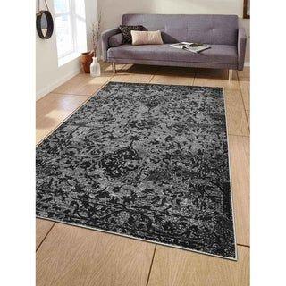 Area Rug Turkish Contemporary Silver In 2020 Area Rugs Silver Area Rug Oriental Carpets