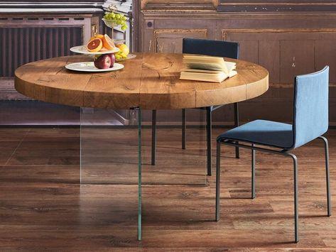 Tavolo Da Pranzo Rotondo : Tavolo da pranzo rotondo in legno air wildwood tavolo rotondo by