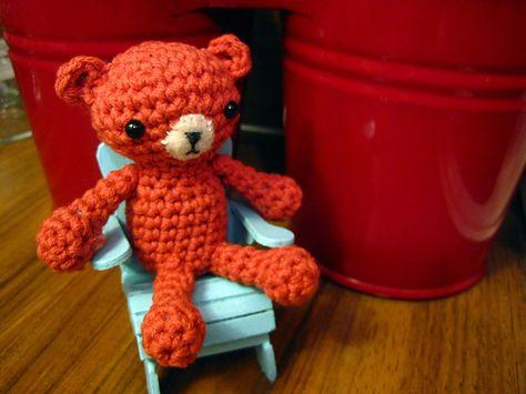 Ravelry: Tiny Bear free crochet pattern by Tatyana Krivosheev