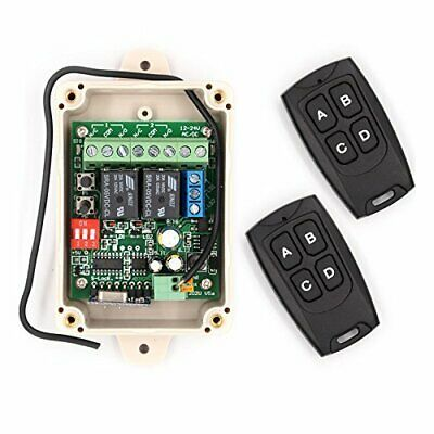 Advertisement 12v 24v Interruptor De Rele De Control Remoto Inalambrico Rf Seguro Univer In 2020 Garage Doors Aging Wood Discount Interior Doors
