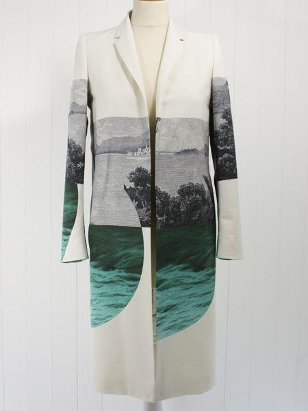 Dries Van Noten Roxy Print Coat Envoy Of Belfast Fashion Fashion Design Androgynous Fashion