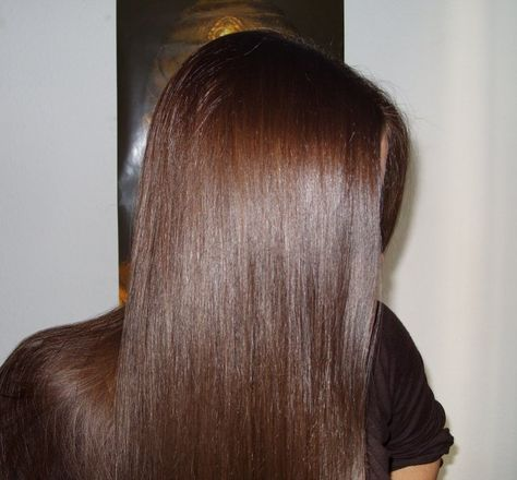 Lovely hennaed hair
