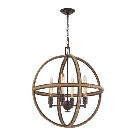 elk lighting alanna collection oil rubbed bronze finish pendants oil rubbed bronze and oil