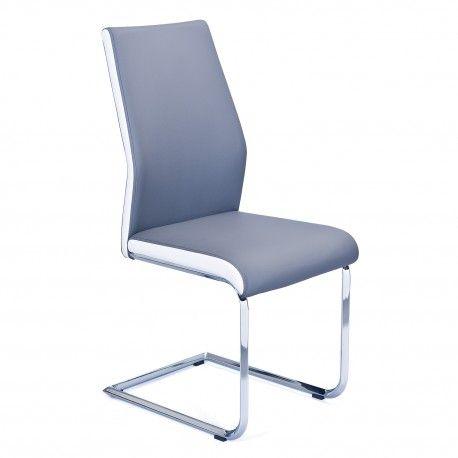 Chaise Moderne Connecticut Disponible En Gris Et Beige Design Furniture Home Decor