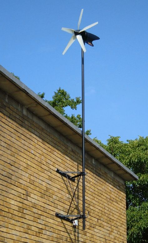 Wind power generator for your home, cabin, trailer, or boat.Power