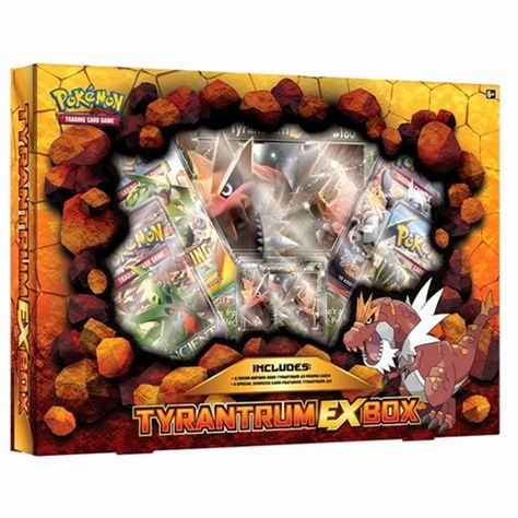 Pokemon Tcg Tyrantrum Ex Box Card Game 4 Pokemon Booster