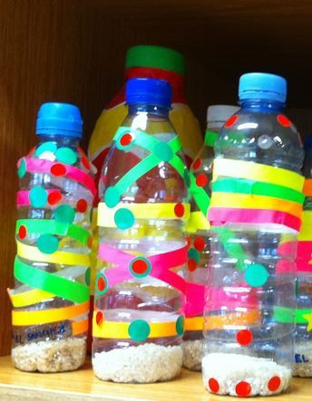 Maracas Con Botellas Material Necesario Botellas De