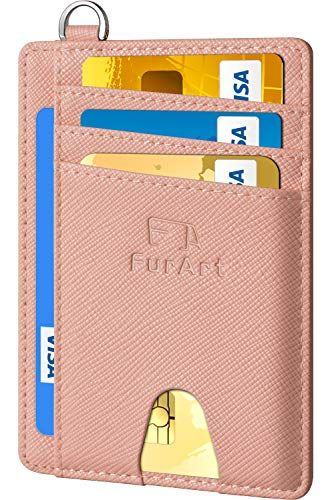 d748efccd348 Amazon.com: FurArt Slim Minimalist Wallet, Front Pocket Wallets ...