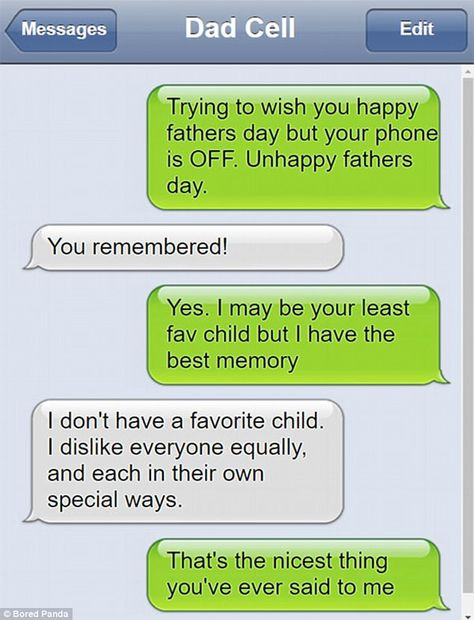 Are these the funniest dad texts ever?