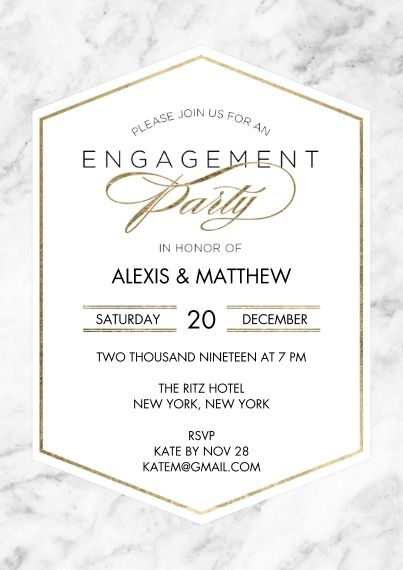 Personalized Engagement Party Invitations 5x7 Cards Premium Cardstock 12 Engagement Party Invitations Personalized Engagement Personalised Wedding Invitations