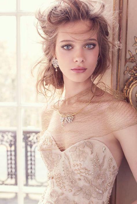 Lazaro Bridal Fall 2015 Wedding Dresses - Belle The Magazine