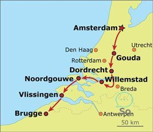 Private Ganztagige Landradtour Durch Nordholland Ab Amsterdam In