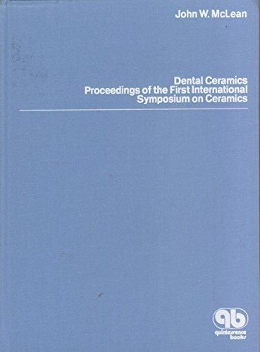 DOWNLOAD IN @PDF] Dental Ceramics: Proceedings of the First