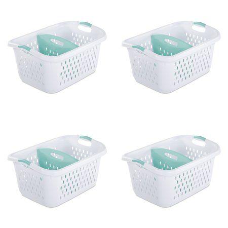 Home Divided Laundry Basket Laundry Basket Plastic Laundry Basket