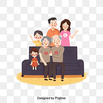 Cartoon Hand Painted Family Picture Family Picture Clipart Family Love Png Transparent Clipart Image And Psd File For Free Download Family Illustration Family Cartoon Childrens Drawings