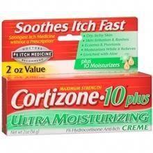 Cortizone 10 Maximum Strength Hydrocortisone Anti Itch Cream Plus
