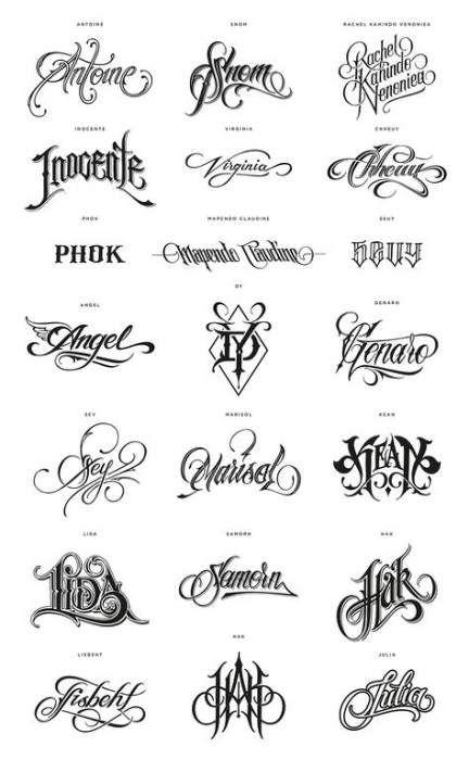 57 Ideas For Tattoo Fonts For Names Design Tattoo Tattoo Name