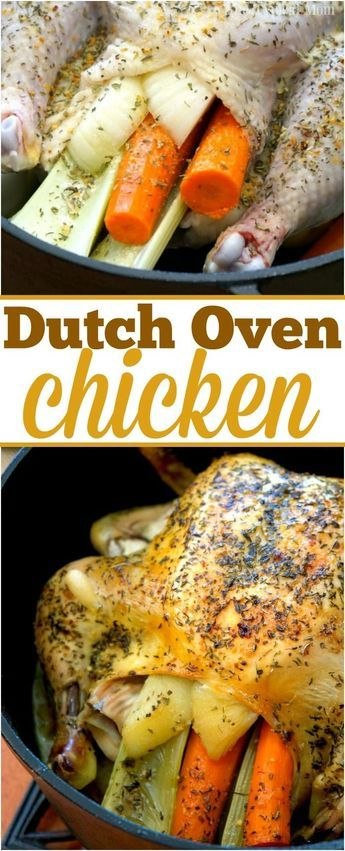 Dutch Oven whole Chicken Recipes is Among the Beloved Chicken Of Several People Across the World. Besides Simple to Produce and Good Taste, This Dutch Oven whole Chicken Recipes Also Health Indeed. Baked Whole Chicken Recipes, Cooking Whole Chicken, Roast Chicken Recipes, Oven Roasted Whole Chicken, Dutch Oven Chicken, Dutch Oven Cooking, Dutch Ovens, Recipe For Whole Chicken In Dutch Oven, Dutch Oven Campfire Recipes