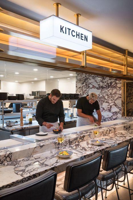 Drugstore 3147 Restaurant Kitchen Design Open Kitchen Restaurant Restaurant Design