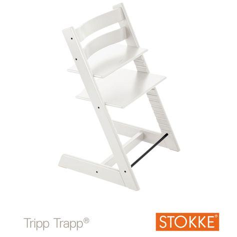 Chaise Haute Tripp Trapp Blanc De Stokke Chaises Hautes