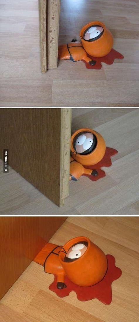 Kenny Doorstop Want It South Park Fun Door Stop