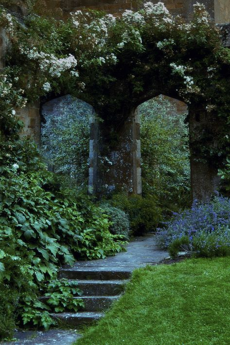 Amazing 15 Gothic Garden Ideas for Your Backyard The Secret Garden, Secret Gardens, Hidden Garden, Gothic Garden, Exterior, Enchanted Garden, Parcs, Garden Gates, Garden Doors