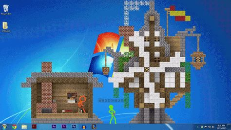 Animation Vs Minecraftgreat Animation From Alan Becker With